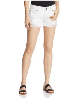 Keira Cutoff Denim Shorts