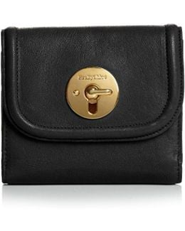 Lois Square Leather Wallet