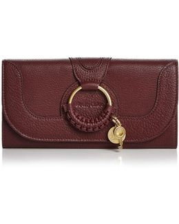 Hana Leather Continental Wallet