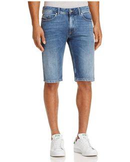 Thashort Straight Fit Denim Shorts