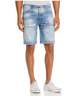 Bustshort Straight Fit Denim Shorts