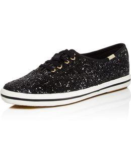X Keds Glitter Slip-on Sneakers