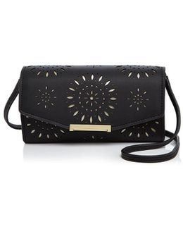 Ivank Trump Mara Leather Wallet Crossbody