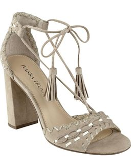 Karita Lace Up High Heel Sandals