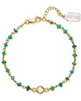 Dayna Turquoise Beaded Bracelet