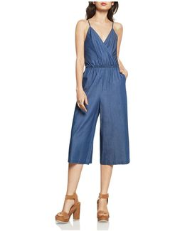 Culotte Denim Jumpsuit