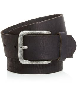 Artisan Textured Leather Belt