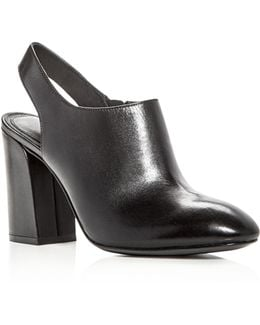 Collection Clancy Leather High Heel Booties
