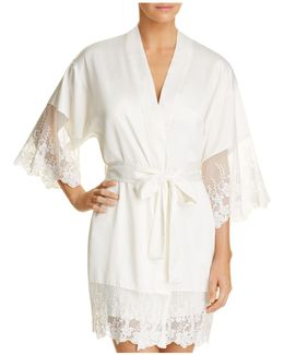Farrah Charmeuse Cover-up Robe