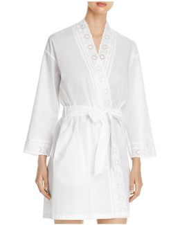 Short Wrap Robe