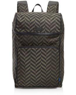 Stanton Nylon & Leather Backpack