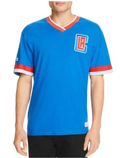 Los Angeles Clippers Vintage Nba V-neck Tee