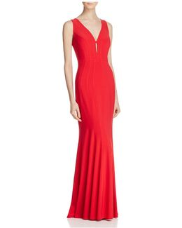 Seamed Gown
