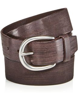 Hand Burnished Belt