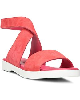Jordan Suede Ankle Strap Sandals