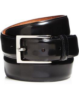 Vincenzo Shiny Tuxedo Belt