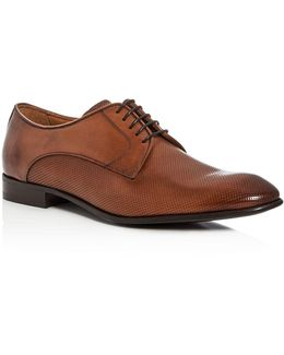 Virotto Perforated Plain Toe Derbys