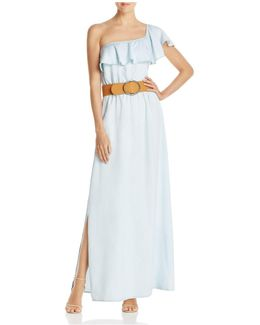Belle One-shoulder Maxi Dress