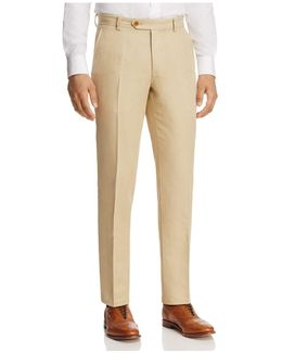 Irish Linen-blend Classic Fit Pants
