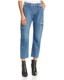 Cargo Crop Jeans