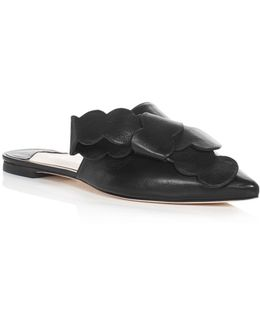 Gaitano Bow Pointed Toe Mules