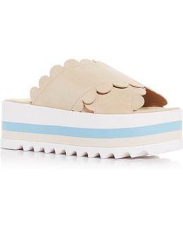 Bondi Platform Slide Sandals
