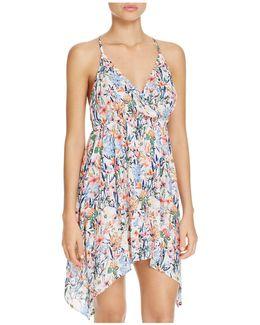 Lucky Garden Dress Swim Cover-up