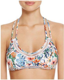 Lucky Garden Bralette Bikini Top
