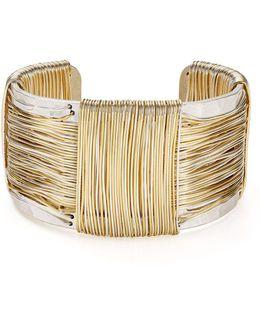 Two-tone Wire Cuff