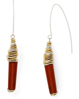 Beaded Threader Earrings