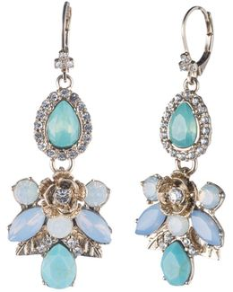 Machesa Cluster Drop Earrings