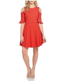 Emma Cold-shoulder Dress