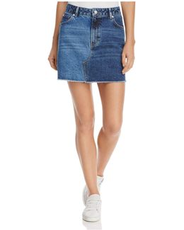 Allene Denim Mini Skirt
