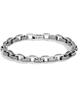 Men's Sterling Silver Classic Chain Link Bracelet