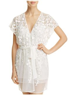 Lace Cover-up Robe