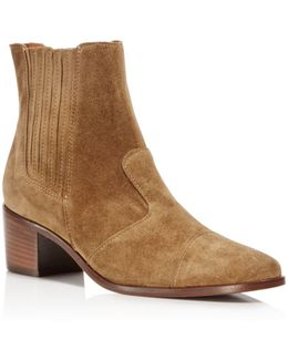 Holland Suede Booties