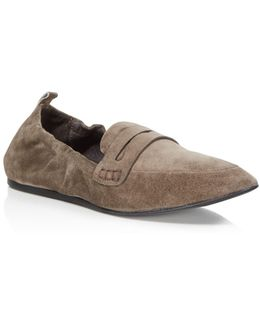 Milly Suede Loafers
