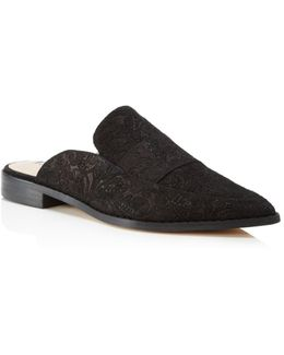 Porter Floral Embossed Mules