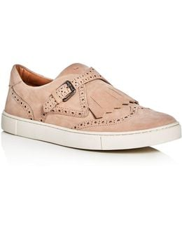 Gemma Kiltie Brogue Monk Strap Sneakers