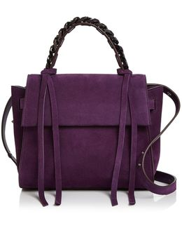 Angel Small Suede Satchel