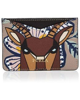 Gioia Printed Leather Card Case