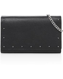 Gigi Leather Chain Wallet