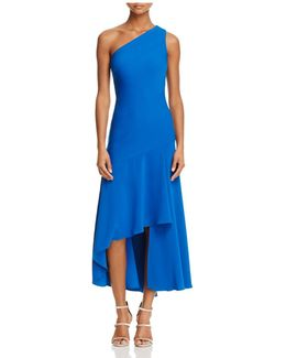 Infusion One Shoulder High/low Dress