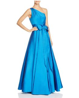 Infusion One-shoulder Ball Gown