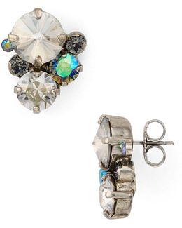 Swarovski Crystal Cluster Stud Earrings