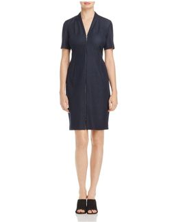Madeline Zip-front Dress