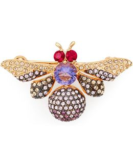 Purple Bee Pin