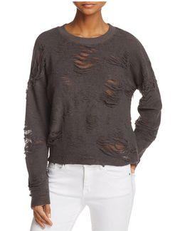 Cenix Distressed Sweatshirt