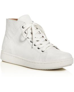 Game High Top Lace Up Sneakers