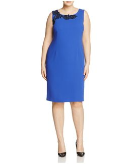 Dedicare Crepe Sheath Dress
